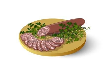 60252310-tabla-de-cortar-aislado-con-salchichas-salami-embutidos-y-perejil-ilustraci-n-vectorial